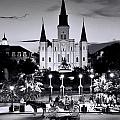 St. Louis Cathedral New Orleans by Allen Beatty