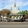 St Louis Cathedral New Orleans by Ed Weidman