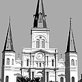 St Louis Cathedral Poster 1 by Alys Caviness-Gober