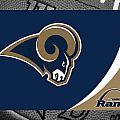 St Louis Rams by Joe Hamilton