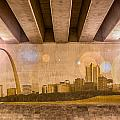 St. Louis Skyline by Semmick Photo