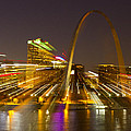 St Louis Skyline With Special Zoom Effect by Garry McMichael