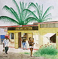 St. Lucia Store by Frank Hunter