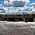 St Lucie Lock And Dam 2 by Dan Dennison