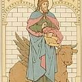 St Luke The Evangelist by English School