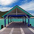 St. Maarten Pier by Marie Hicks