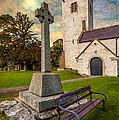 St. Marcellas Celtic Cross by Adrian Evans