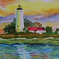 St. Marks Lighthouse-2 by Warren Thompson