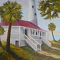 St. Marks Lighthouse by Michael Cook