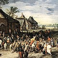 Saint Martin Dividing His Cloak London by Jan Brueghel the Elder
