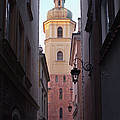 St. Martin's Church Bell Tower In Warsaw by Artur Bogacki