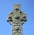 St. Martin's Cross Close Up by Denise Mazzocco