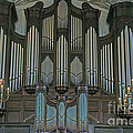 St Martins In The Field Organ by Elvis Vaughn