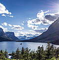 St. Mary Lake by Aaron Aldrich