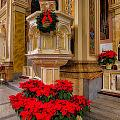 St. Mary Of The Angels Christmas Lectern by Lindley Johnson