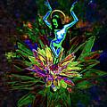 St. Mary Of The Lotus Sta. Maria De El Loto by Jesus Torrado