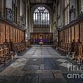 St Mary The Virgin Church - Choir And Altar by Yhun Suarez