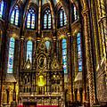 St Matthias Church Interior by Jon Berghoff