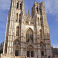 St Michael And St Gudula Cathedral by Stephen Barrie