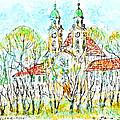 St. Michaeli Church In Munich by Kurt Tessmann