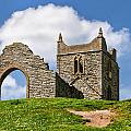 St Michael's Church - Burrow Mump 4 by Susie Peek