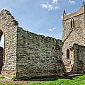 St Michael's Church - Burrow Mump 5 by Susie Peek