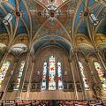 St. Michael's Church Windows by Chris Smith