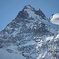 St Mortiz Peaks by Christine Dekkers