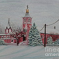 St. Nicholas Church Roebling New Jersey by Lora Duguay