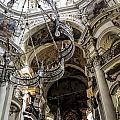 St Nicolas Interior by Brenda Kean