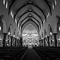 St Patricks Cathedral Fort Worth by Joan Carroll