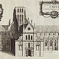 St Paul's Cathedral, 17th Century Artwork by British Library