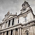 St Pauls Cathedral In London Uk by Michal Bednarek