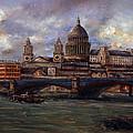 St. Paul's  Cathedral  - London by Miroslav Stojkovic - Miro