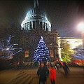 St. Paul's Cathedral London by Monica Ellen Smith