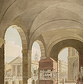 St. Pauls, Covent Garden C.1765-75 Graphite And Wc On Paper by John Miller