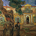 St Pauls Hospital, St Remy, 1889 by Vincent van Gogh