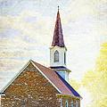 St Paul's Lutheran Church by Bill Tiepelman