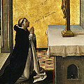 St. Peter Martyr In Prayer by Pedro Berruguete