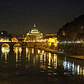 St Peters At Night by Tony Murtagh