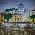 St. Peter's Basilica by Flora Muhametaj