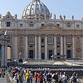 St. Peters - Vatican - Rome by Phil Banks