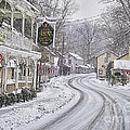 St Peters Village Snow 3 by Jack Paolini