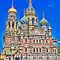 St Petersburg Church by Alex Hiemstra