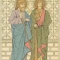 St Philip And St James by English School