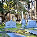 St. Philips Church Cemetery Charleston Sc by Lisa Wooten