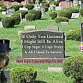 St. Red Dye Cemetery by Diane V Bouse