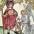 St. Roch (c1350-c1379) by Granger