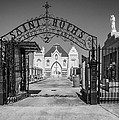 St Roch's Cemetery Bw by Steve Harrington