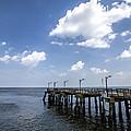 St. Simon's Island Georgia Dock by Kathy Clark